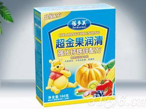 超金果润清强化钙铁锌配方