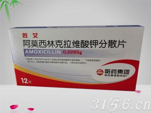 阿莫克拉维酸钾分散片