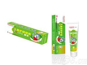 儿童护龈健齿牙膏