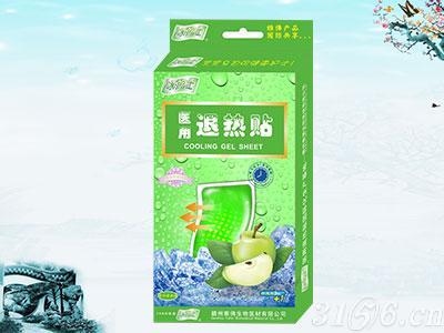 冰护士医用退热贴水果香型系列青苹果