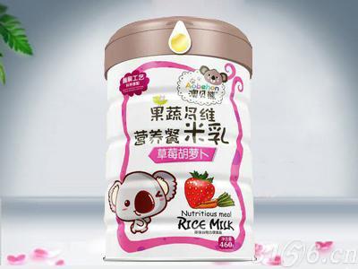 果蔬多维营养餐米乳 草莓胡萝卜
