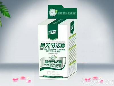 盖士力-骨关节活素钙铁锌硒+维生素