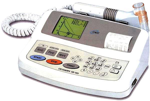 日本捷斯特HI-101便携式肺功能仪