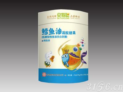 鱈魚油凝膠糖果