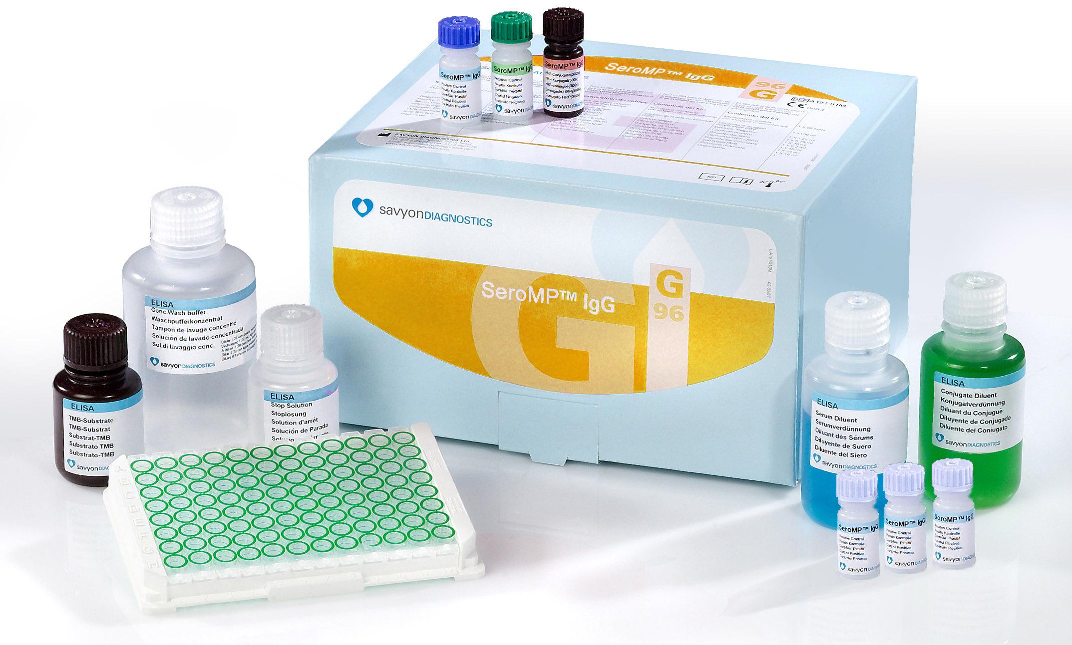 肺炎支原体抗体IgG检测试剂盒(酶联免疫法)